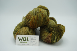 Recycled Wool Once Orange / Green