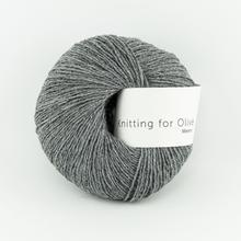Knitting for Olive Merino Granite Gray