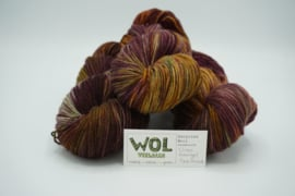 Recycled Wool Once Orange / Bordeaux