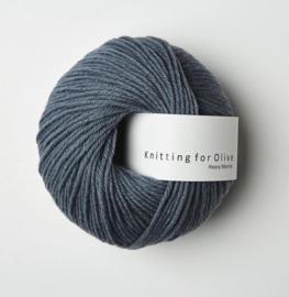 Knitting for Olive Heavy Merino Dusty Petroleum Blue