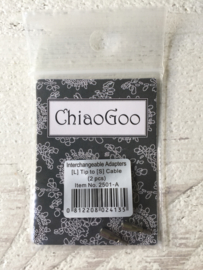 ChiaoGoo Interchangeable Adapters L to S