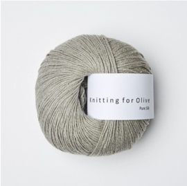 Knitting for Olive Pure Silk Lamb's Ears