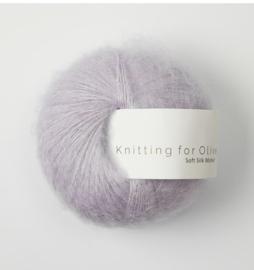 Knitting for Olive Soft Silk Mohair Unicorn Purple