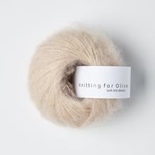 Knitting for Olive Soft Silk Mohair Soft Rose