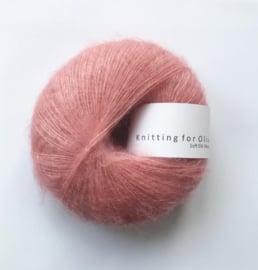Knitting for Olive Soft Silk Mohair Flamingo
