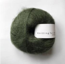 Knitting for Olive Soft Silk Mohair Bottle Green