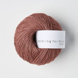 Knitting for Olive Pure Silk Plum Rose