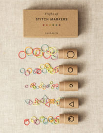 Flight of Stitch Markers - CocoKnits