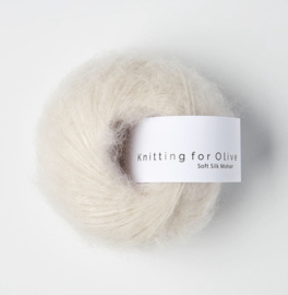 Knitting for Olive Soft Silk Mohair Putty