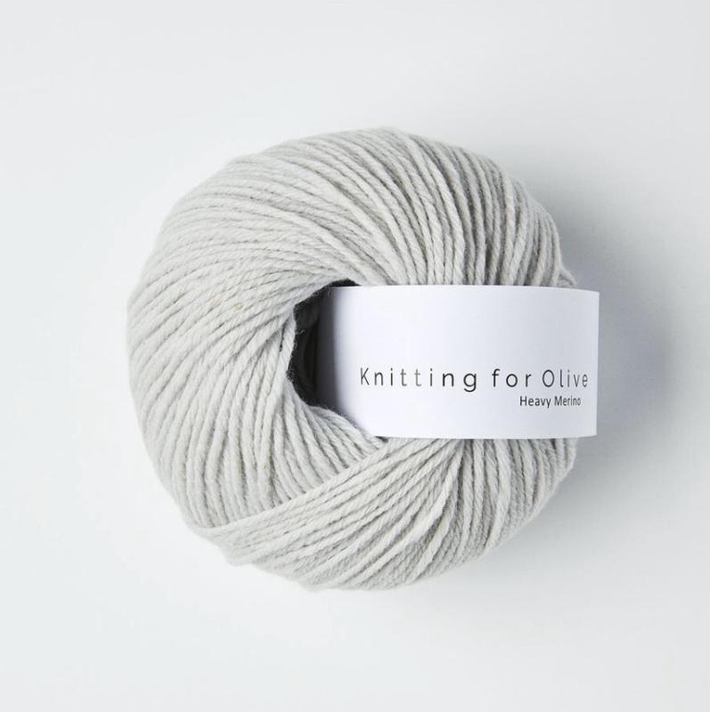 Knitting for Olive Heavy Merino Soft Grey