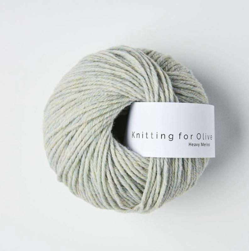 Knitting for Olive Heavy Merino Soft Aqua