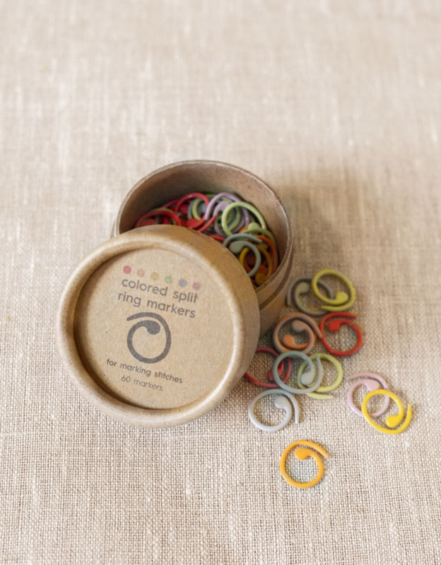 CocoKnits Colored Split Stitch Markers