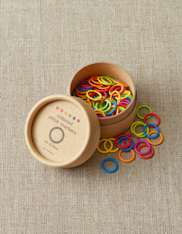 CocoKnits Large Colored Ring Stitch Markers