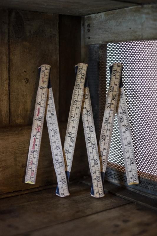 Merchant & Mills Houten Vouwbare Liniaal