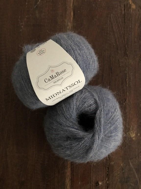 CaMaRose Midnatssol Jeansblå