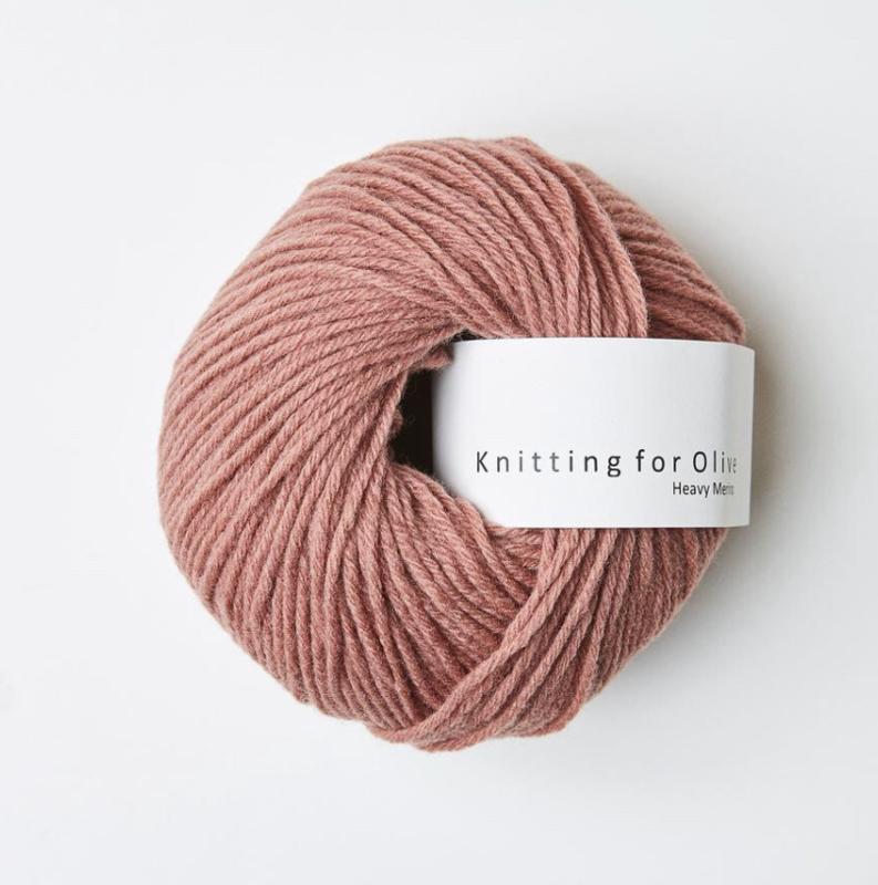 Knitting for Olive Heavy Merino Terracotta Rose