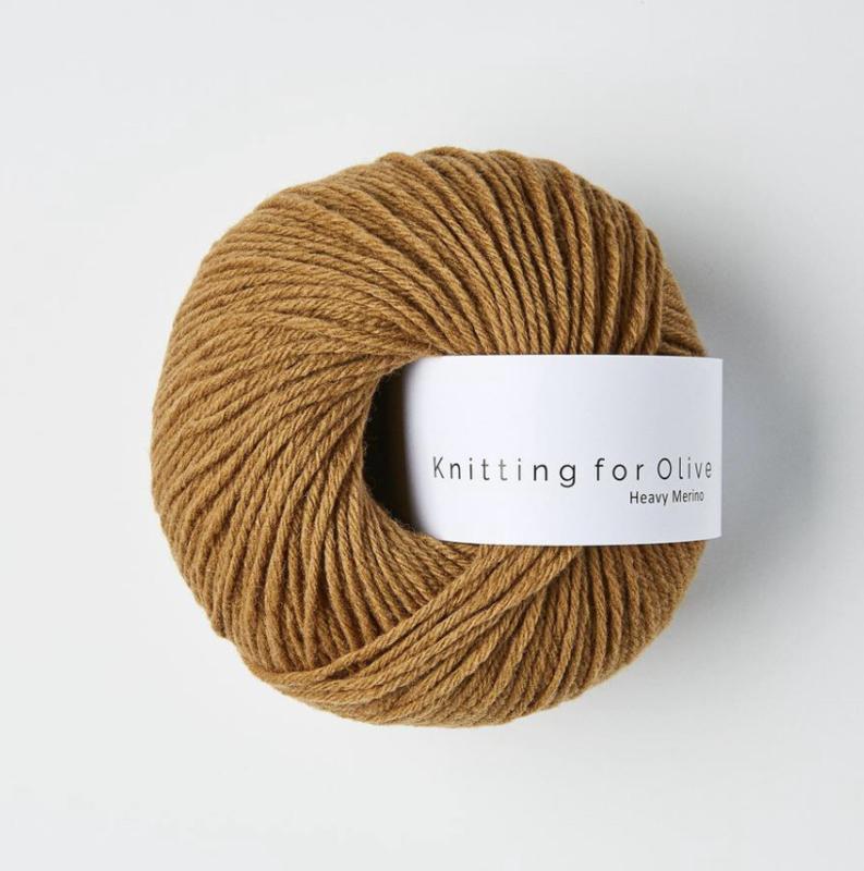 Knitting for Olive Heavy Merino Camel