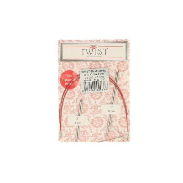 ChiaoGoo Twist Lace Short Combo Pack 5+8cm