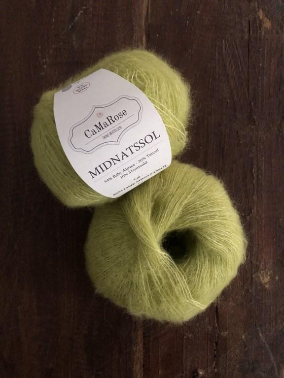 CaMaRose Midnatssol Lime