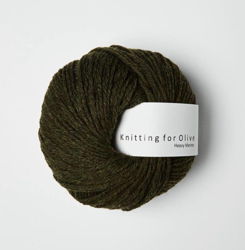 Knitting for Olive Heavy Merino Slate Green