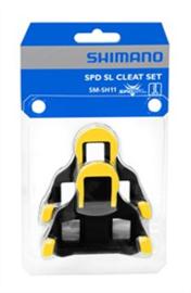 SHIMANO SCHOENPLATEN SPD-SL SM-SH11 GEEL