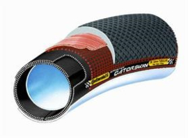"CONTINENTAL TUBE SPRINTER 28"" 22MM GATORSKIN"