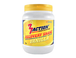 3ACTION RECOVERY SHAKE VANILLE 500GRAM