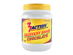 3ACTION RECOVERY SHAKE CHOCOLATE 500GRAM