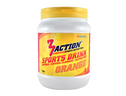 3AKTION SPORTSDRINK ORANGE 500GRAM