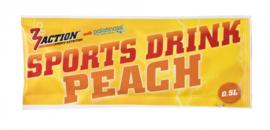 3ACTION SPORTS DRINK PEACH 30GRAM ZAKJE