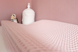 Aankleedkussenhoes roze nude