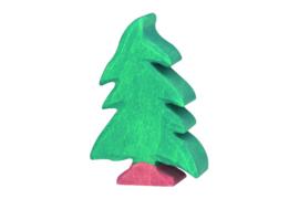 Holztiger naaldboom klein