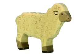 Holztiger staand schaap