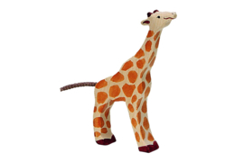 Holztiger giraf (16,5 cm)