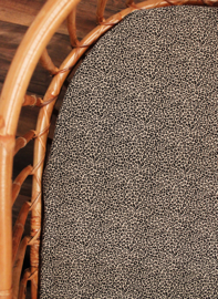 Hoeslaken leopard klein (beige/ zwart)