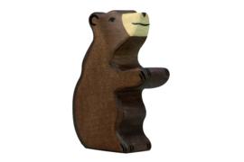 Holztiger kleine bruine beer