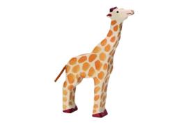 Holztiger giraf (21,5 cm)