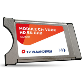 M7 TVV CAM-701 CI+ Module Viac.Orca + Smartcard TVVlaanderen