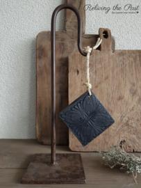 Ornament zeep zwart