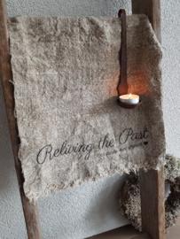 Linnen doek Reliving the Past