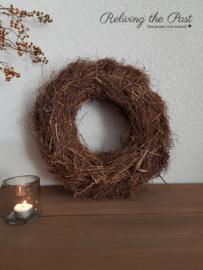 Wortelkrans bruin 40 cm