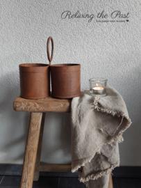 Metalen kruiken & potten