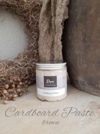 Cardboard Paste Brown