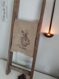 Linnen doek konijn