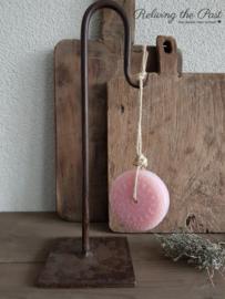 Batikschijf zeep Roze Croatian Blossom