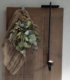 Handgesmede Porte Chandelier waxine 55 cm