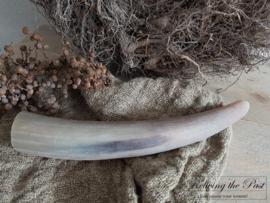Koehoorn mat bruin