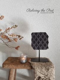 Batikstempel op statief