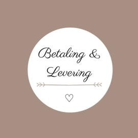 Betaling & Levering