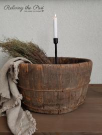 Trog / Olijfbak oud hout